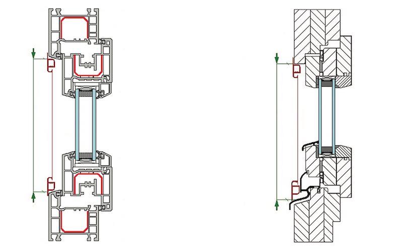 Jak mierzyć okna plastikowe i drewniane do moskitier ramkowych.